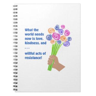 Cadernos O que o mundo precisa agora