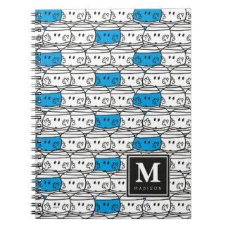 Cadernos O teste padrão azul | do Sr. Colisão | adiciona