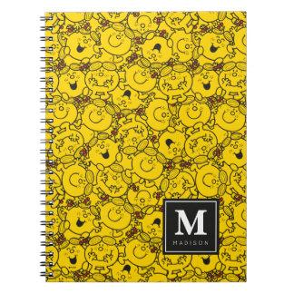 Cadernos O teste padrão | dos sorrisos do amarelo do