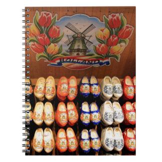 Cadernos Obstruções pintadas de madeira, Holland 2