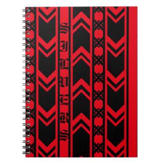 Cadernos Onda vermelha de Apple