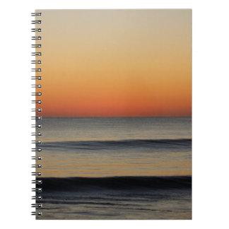 Cadernos Ondas em você horizonte