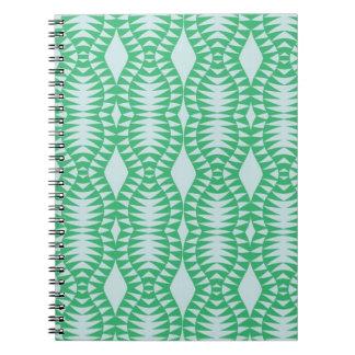 Cadernos Optic verde