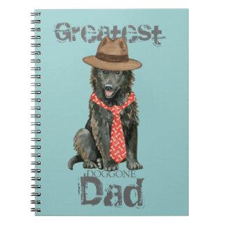 Cadernos Pai belga do Sheepdog