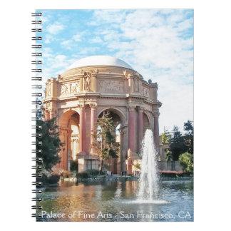 Cadernos Palácio das belas artes - San Francisco