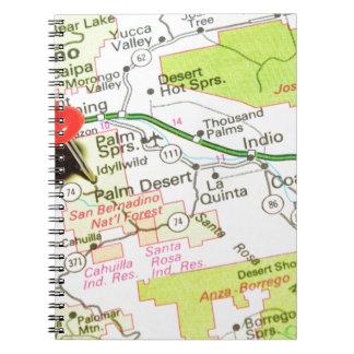 Cadernos Palm Desert, Califórnia