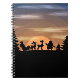 Cadernos Papai Noel perdeu