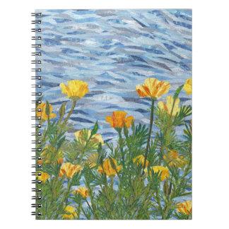 Cadernos Papoilas de Califórnia