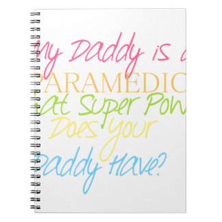 Cadernos paramédico do miúdo