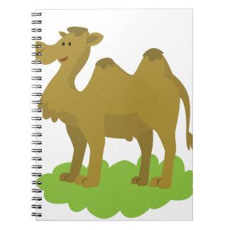Cadernos passeio do camelo alto