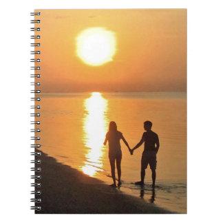 Cadernos Passeio na praia