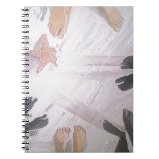 Cadernos Pés da praia