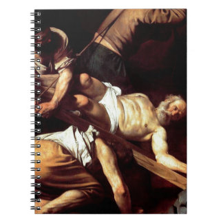 "Cadernos Pintura original ""La crocifissione di s Pietro """