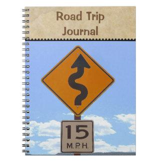 Cadernos Planejador das férias/caderno da viagem por