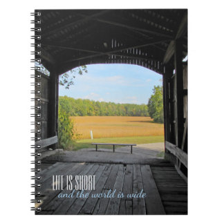 Cadernos Ponte coberta de Indiana