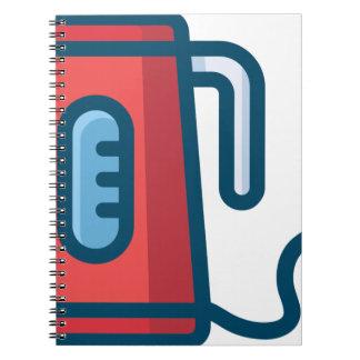 Cadernos Pote elétrico do café