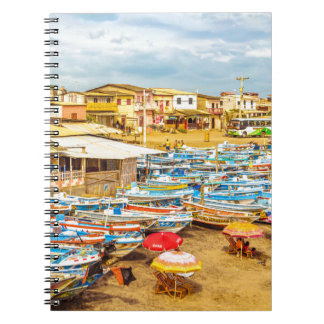 Cadernos Praia de Engabao no distrito Equador de Guayas