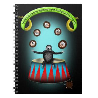 Cadernos preguiça de mnanipulação do ouriço surpreendente