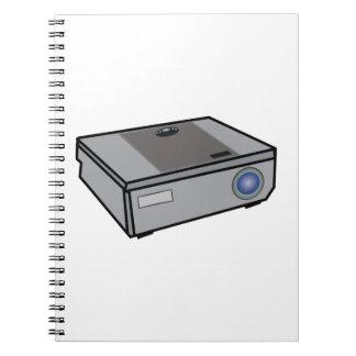 Cadernos Projetor video