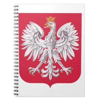 Cadernos Protetor polonês de Eagle