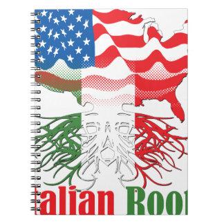 Cadernos raizes italianas