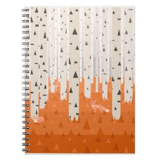Cadernos Raposas da floresta