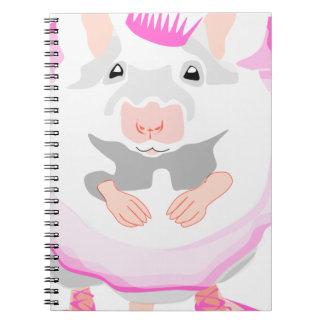 Cadernos rato da bailarina