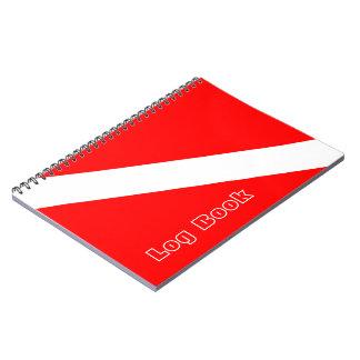 Cadernos Registro do mergulho autónomo