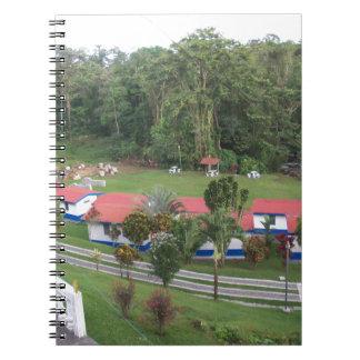 Cadernos retirada de férias em Costa-Rica