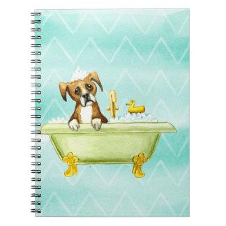 Cadernos Retrato do cão da aguarela