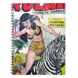 Cadernos Rulah, deusa da selva