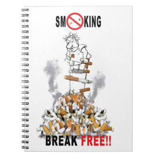 Cadernos Ruptura livre - pare de fumar