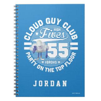 Cadernos Saudação da cara da nuvem dos troll |