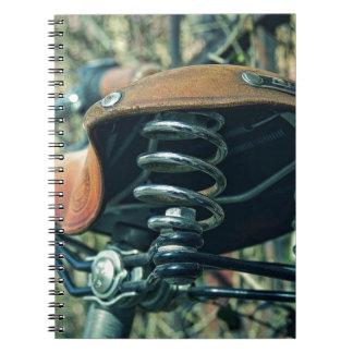 Cadernos Sela da bicicleta