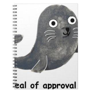 Cadernos Selo de aprovação