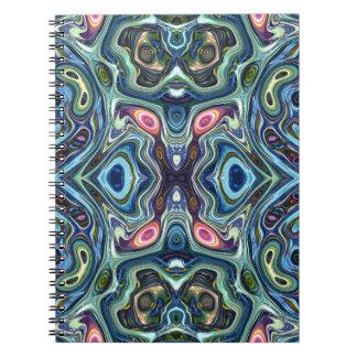 Cadernos Simetria das cores