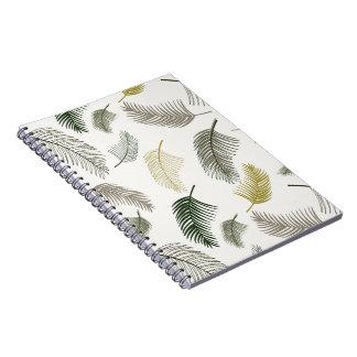 Cadernos Sob as palmeiras