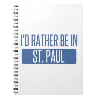 Cadernos St Paul