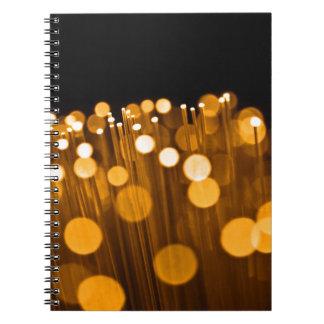 Cadernos Sumário da fibra óptica