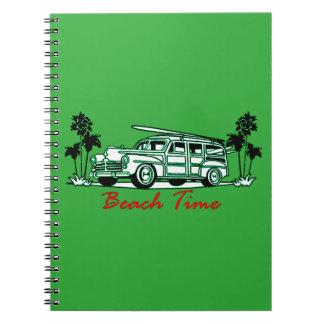 Cadernos Tempo da praia