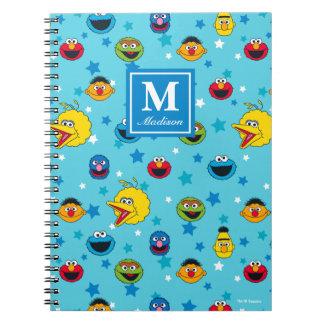 Cadernos Teste padrão de estrela dos melhores amigos do