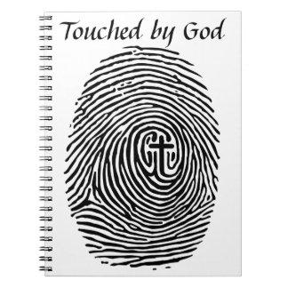 Cadernos Tocado pelo deus