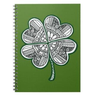 Cadernos Trevo 1 da licença quatro