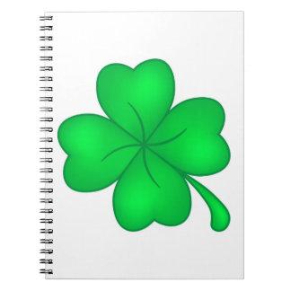 Cadernos Trevo De Quatro Folhas