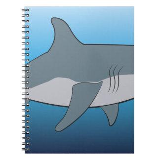 Cadernos tubarão