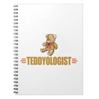 Cadernos Urso de ursinho engraçado