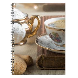 Cadernos Utensílios de mesa da porcelana do alemão do