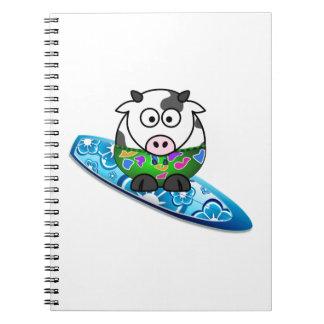 Cadernos Vaca do surfista
