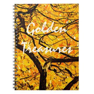 Cadernos Veias douradas do outono