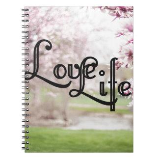 Cadernos Vida do amor